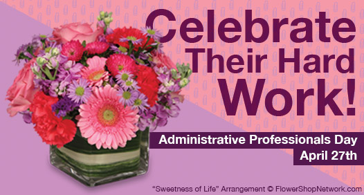 Shop Administrative Professionals Day Arragements