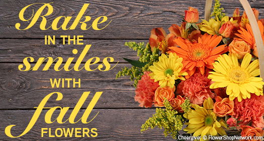Order Fall Flowers Today!