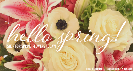 Shop for Spring Flowers Today!