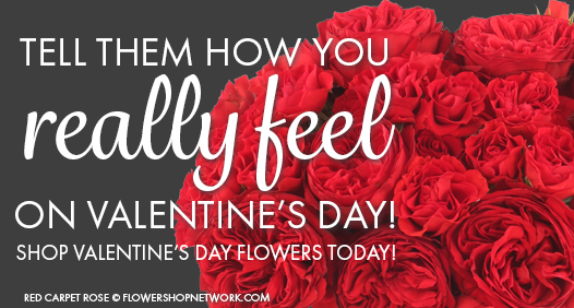 Shop Valentine's Flowers Today!