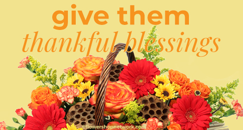 Send Thanksgiving flowers!