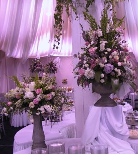 wedding flower receptions